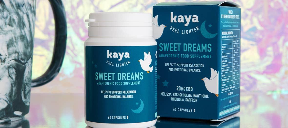 huile de CBD sweet dreams pour bien dormir