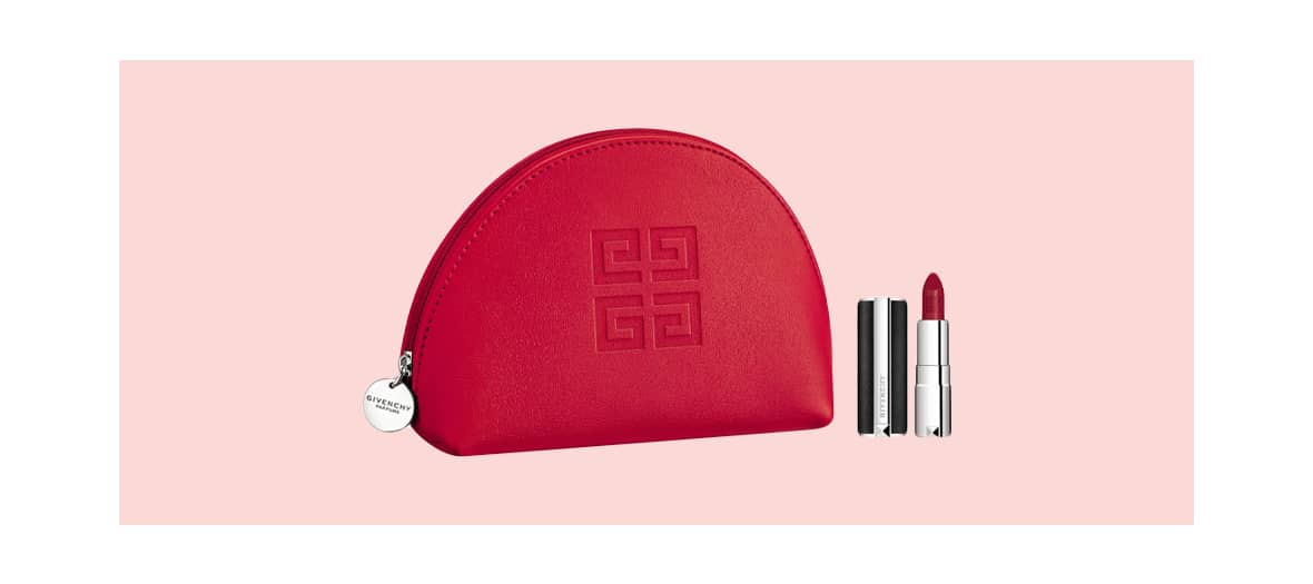 Givenchy Perfumes kit with a miniature the Rouge