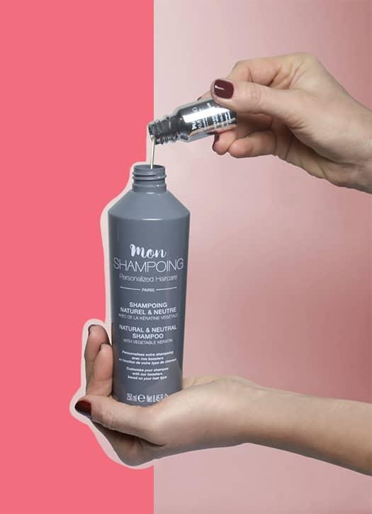 Natural shampoo with keratin, Mon Shampoing
