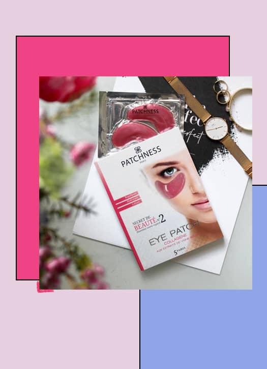 Eye patch pink, Patchness et Hydrolat de bleuet bio, Puressentiel