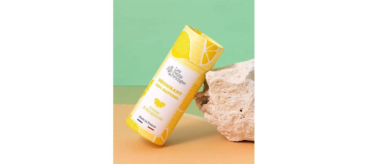 Citron & Bergamote organic deodorant from chez Les Petits Prodiges