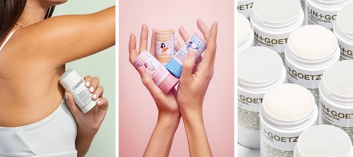Avec des formules 100 % naturelles, les nouveaux déodorants apportent fraîcheur et confort immédiatement et pour toute la journée, tout en préservant la planète avec des packagings recyclables.