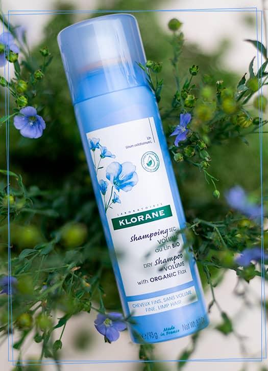 Shampoing sec volume au lin bio 150ml, Klorane
