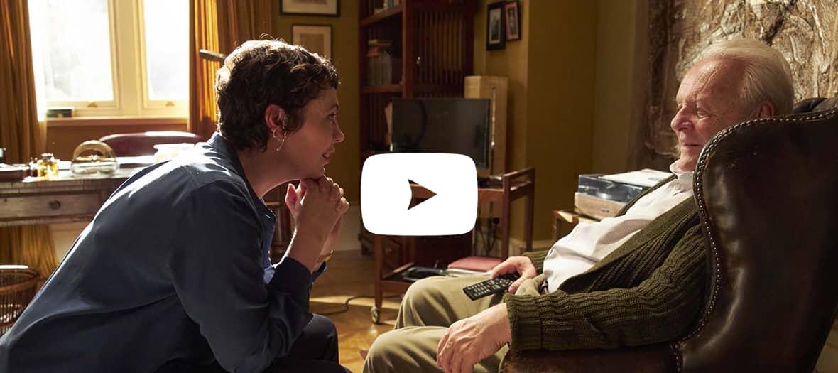 Extrait de the father avec Anthony Hopkins