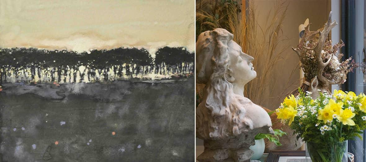 Exposition de peinture par alexandre lutz à la Galerie Laurence Esnol