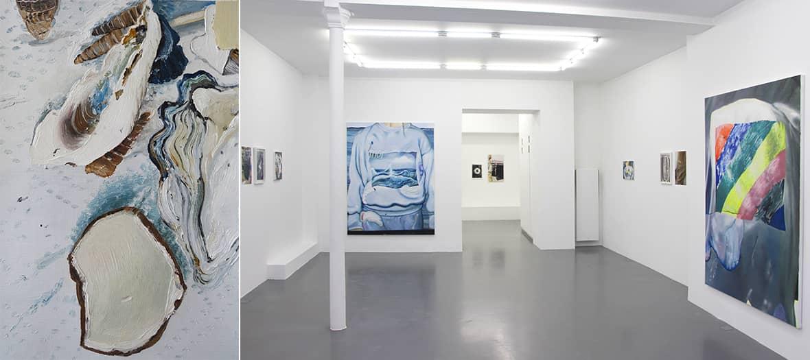 Exposition Mireille Blanc à la galerie Anne-Sarah Bénichou