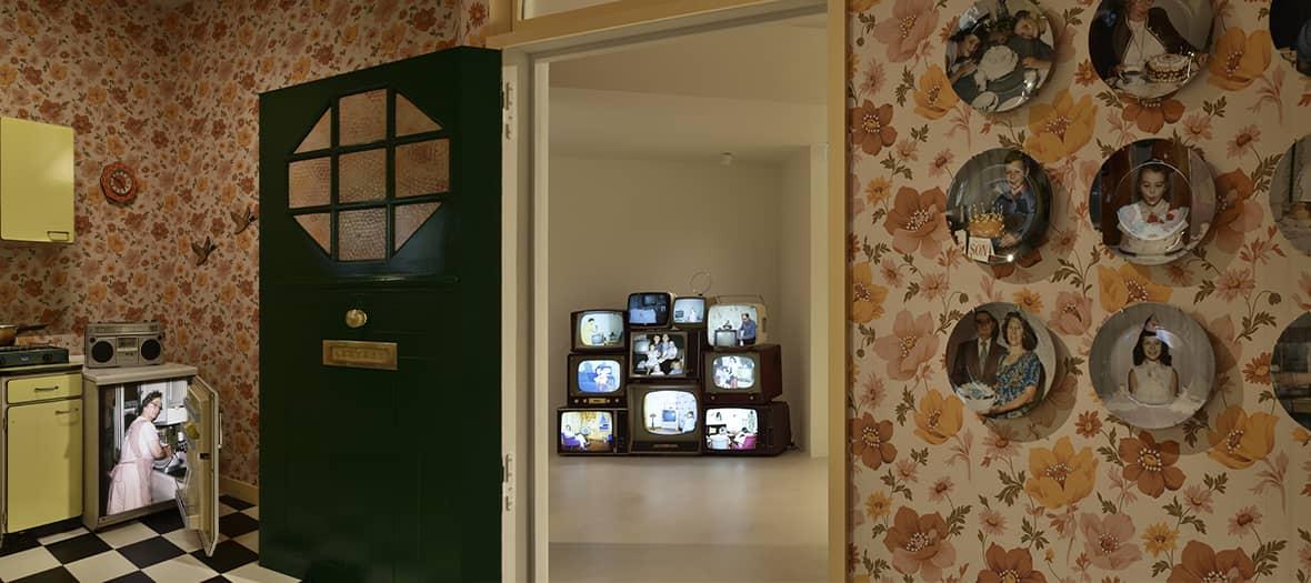 Exposition the anonymous project à la Galerie du Jour par agnes b