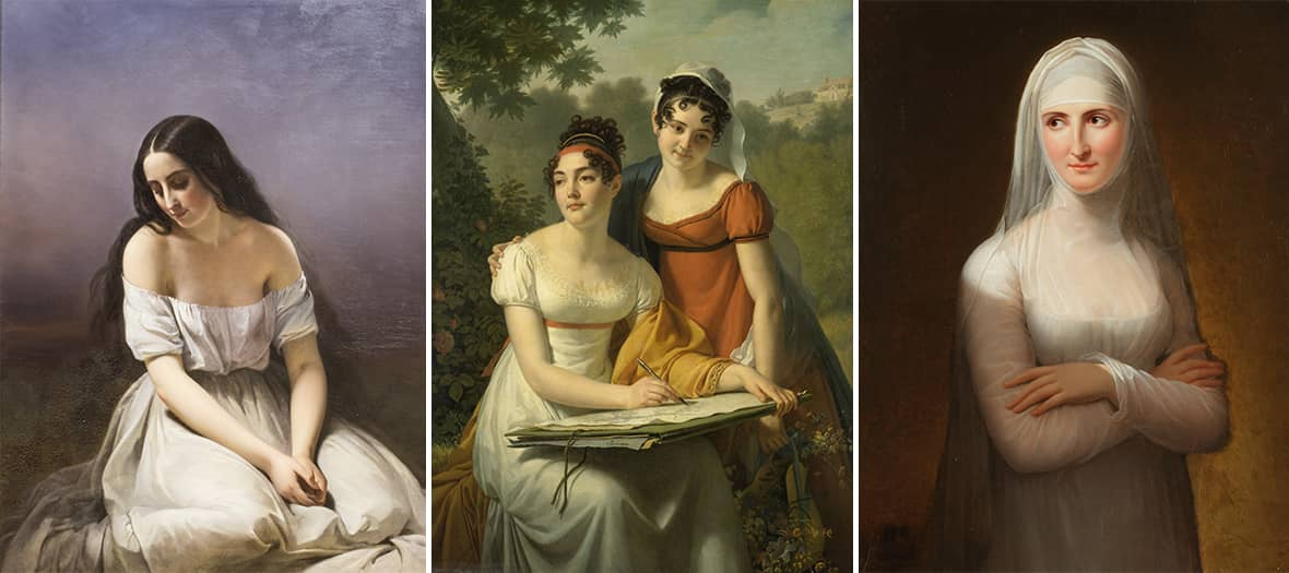 The exhibition Femmes Peintres at the Luxembourg Museum
