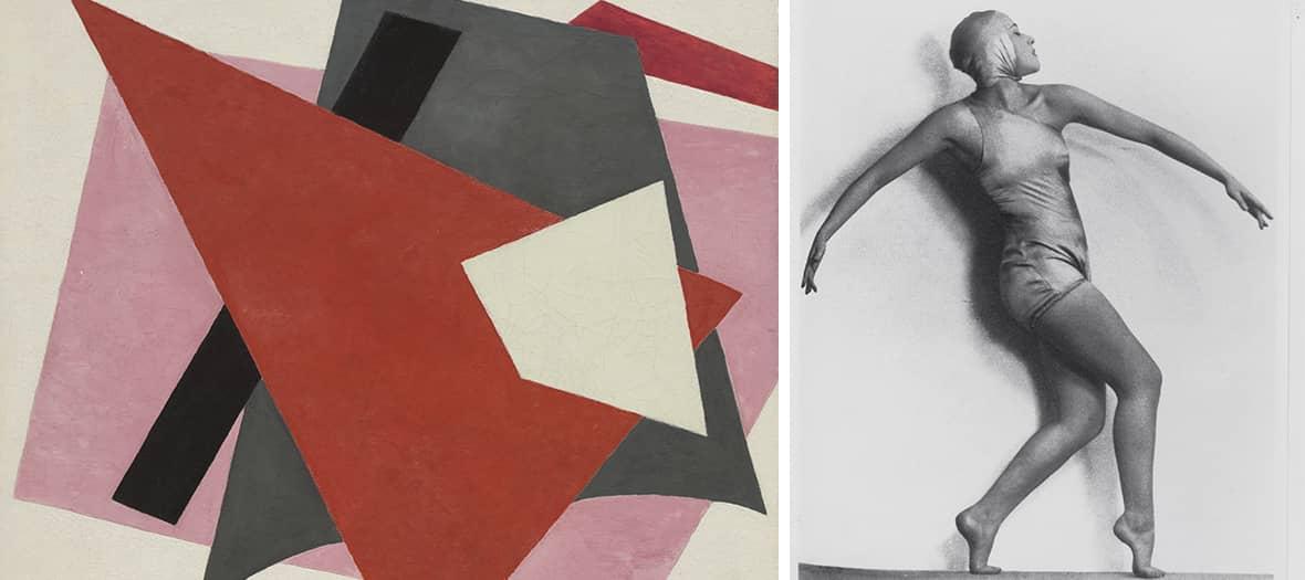 L'exposition Abstraction au centre Pompidou à Paris.
