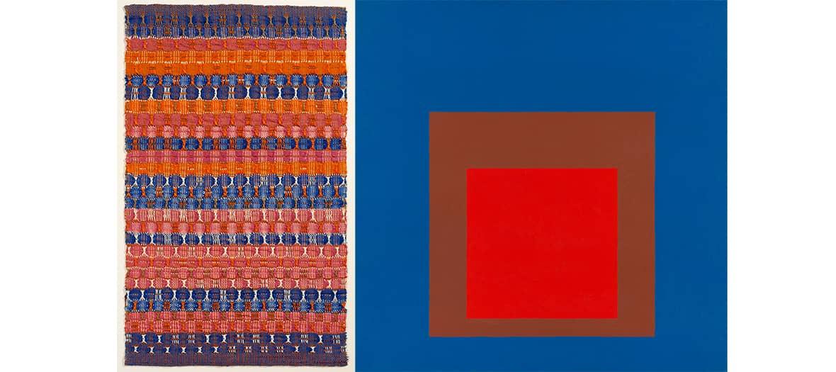 l'Expo Anni et Joseph Albers au musée d'art moderne à Paris