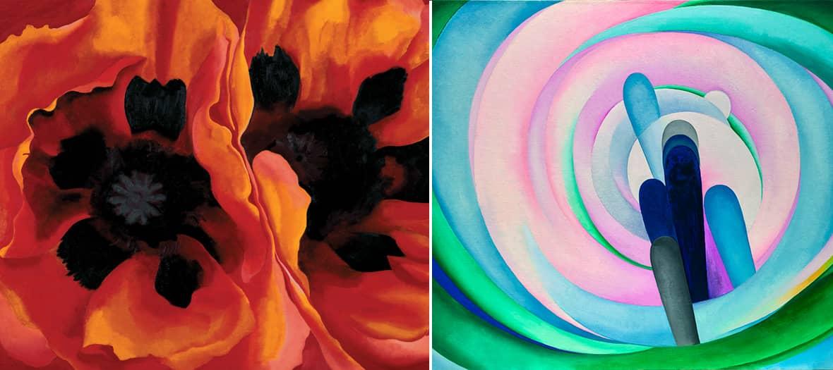 L'expo Georgia O'Keeffe au centre Pompidou