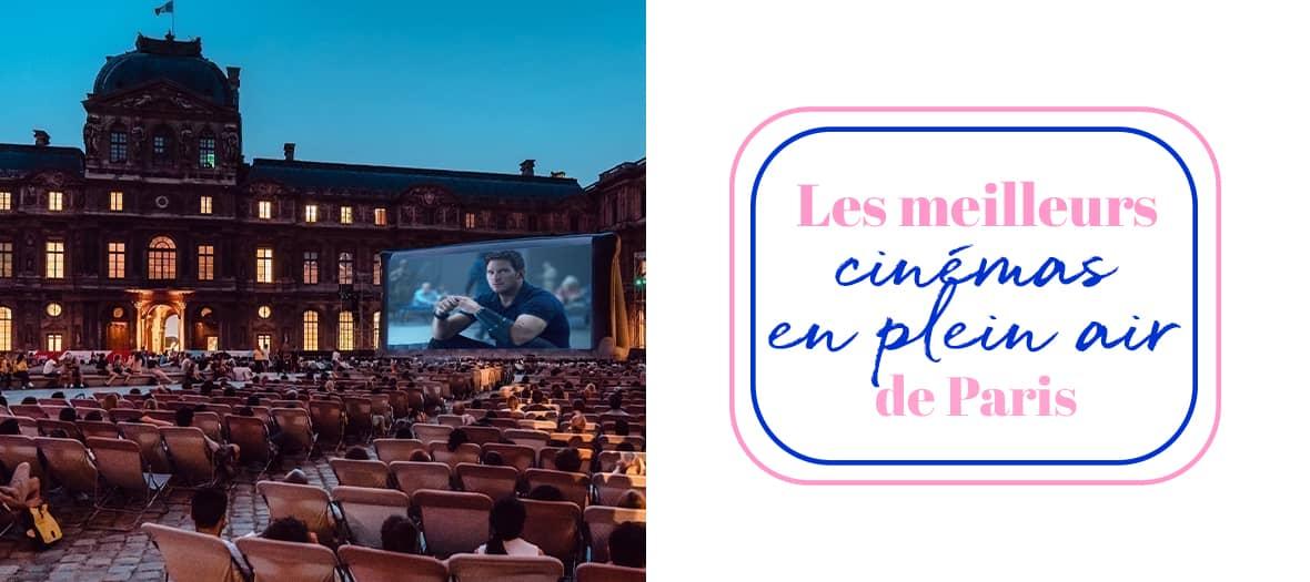 Les Meilleurs Cinemas en Plein Air à Paris.