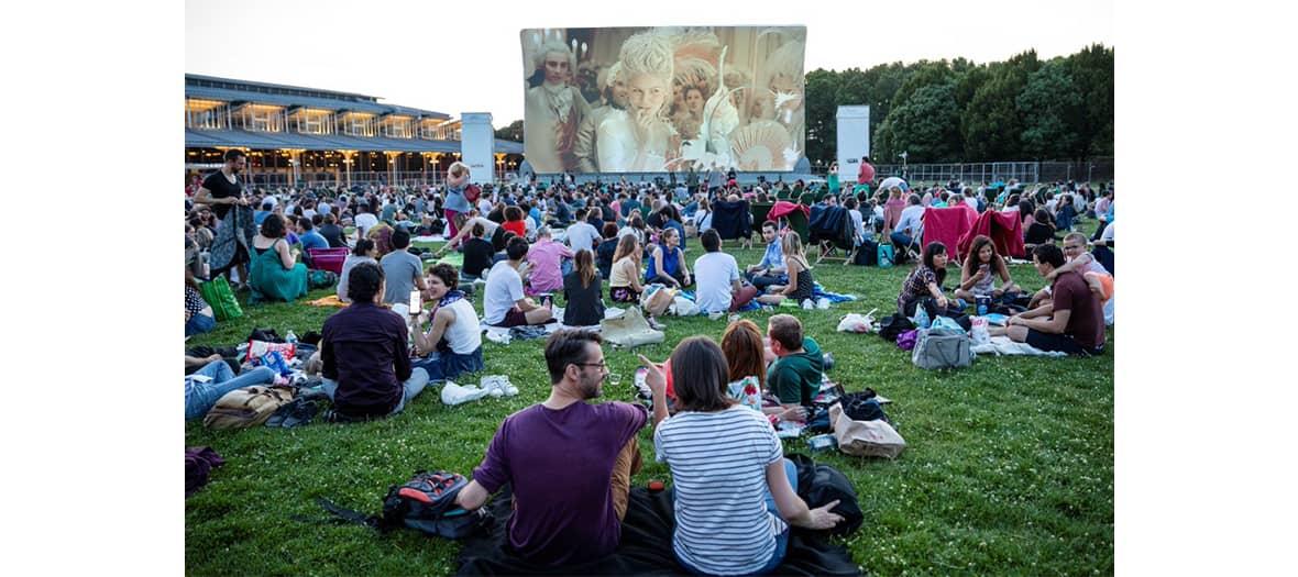 Le cinéma en plein air à la Villette