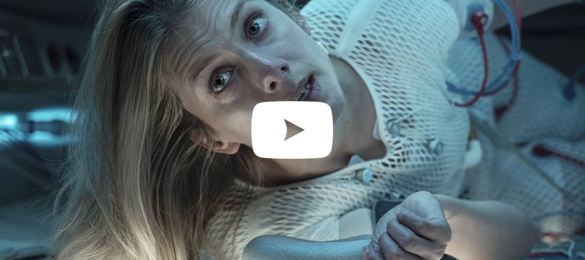 movie clip from the netflix movie Oxygen with Mélanie Laurent