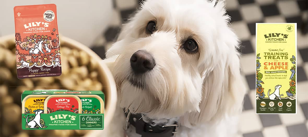 Lily's kitchen range for dogs