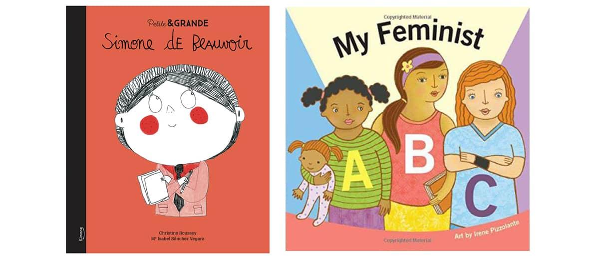 Lectures pour bébé avec My feminist ABC, les biographies collection Petite & Grande pour les enfants