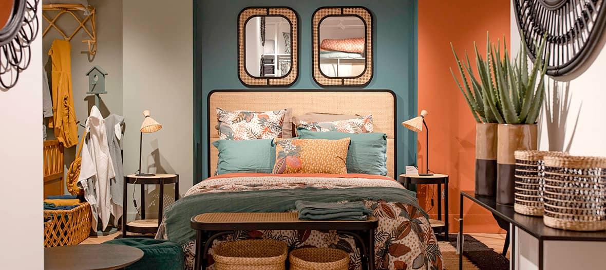 La nouvelle collection autour de la chambre à coucher par la Redoute
