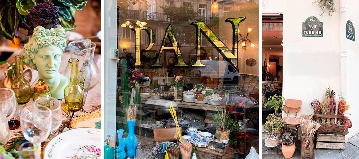 The Flea market from Pan in Paris