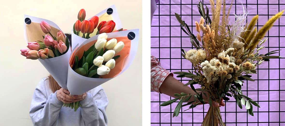 Désirée Fleurs is the trendy and activist café-florist created by Audrey Venant and Mathilde Bignon.