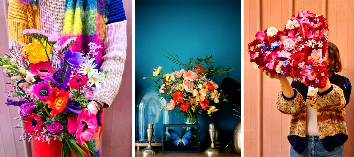Racine Paris is the cool and organic flower studio that takes on local die-hardness.