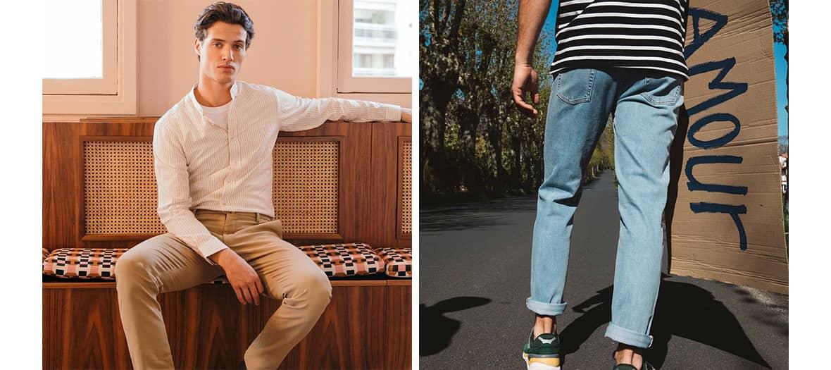La marque pour hommes le pantalon