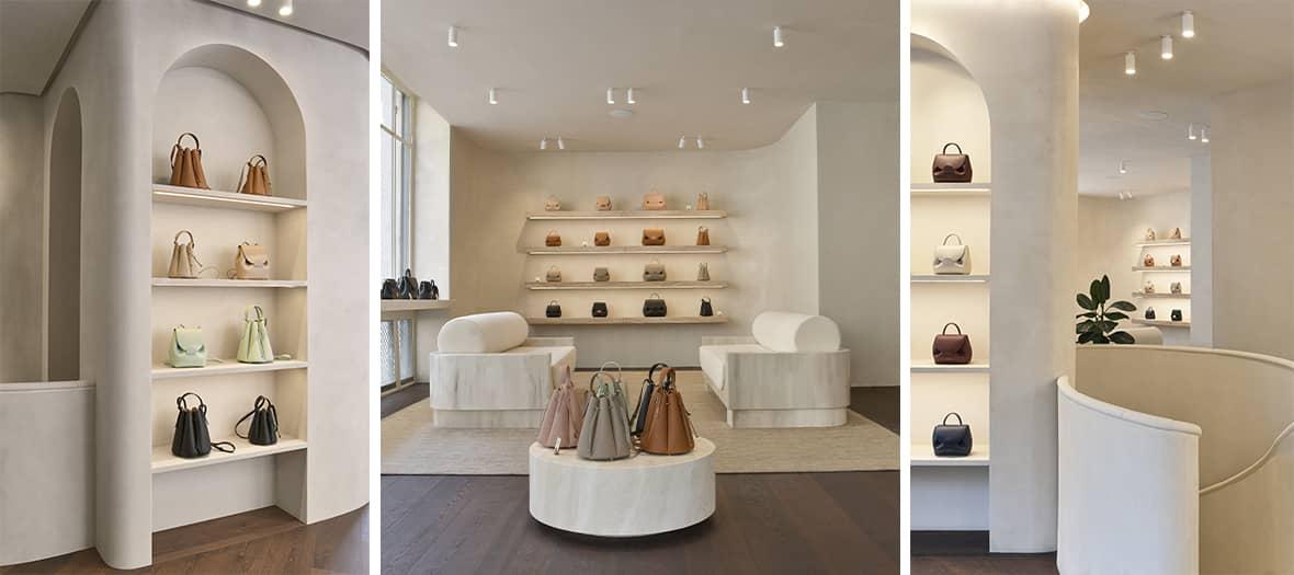 La boutique Polène à Paris