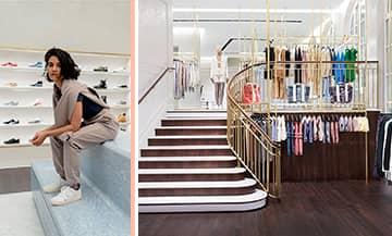 La boutique Streetwear Kith à Paris.