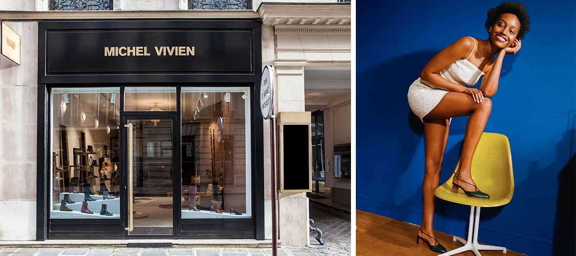 La boutique Michel Vivien à Paris