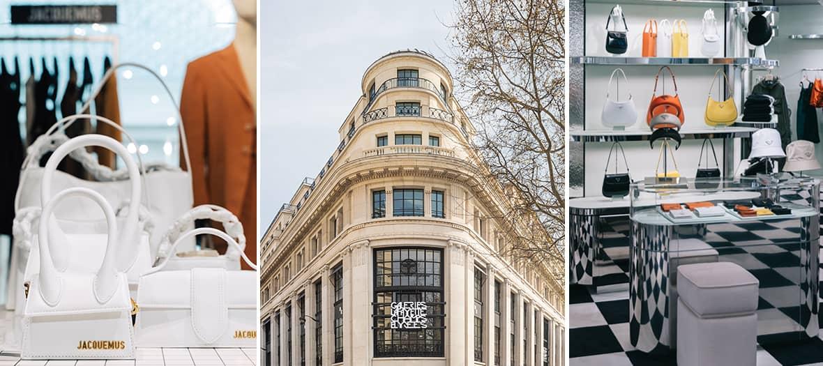 Les concept stores aux Galeries Lafayette des Champs-Elysées