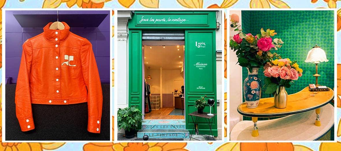 Le concept store Sous Les Paves Vintage à Paris
