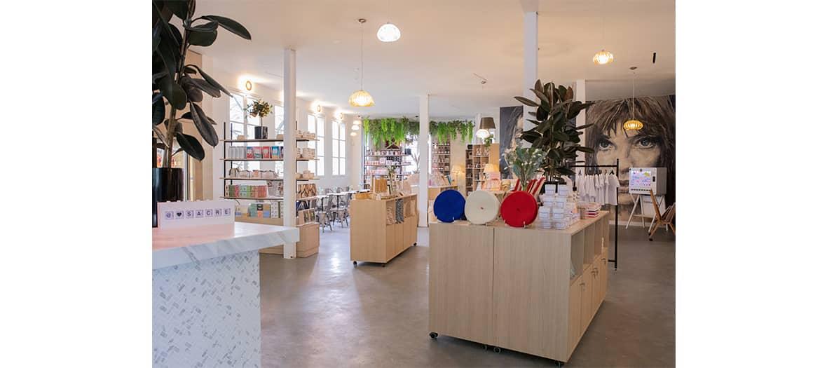 Cœur Sacré, un concept store branché dédié aux marques française
