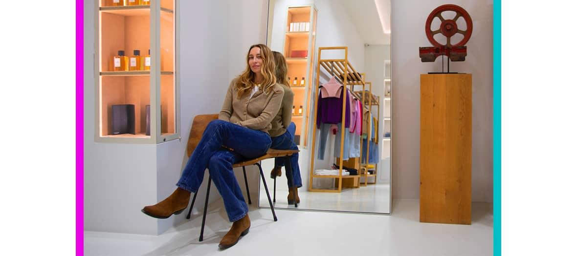 Le pop up Alexandra Golovanoff chez Exemplaire Paris