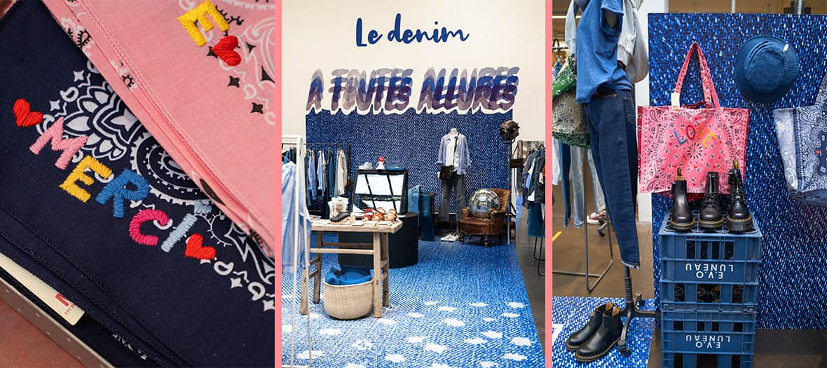 The Denim jean Merci concept-store