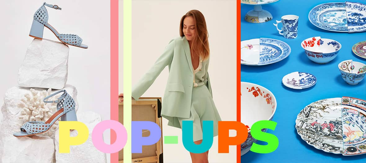 It's time to run through pretty pop-up stores to find inspiration