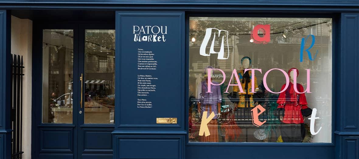 Le pop up Patou par LVMH