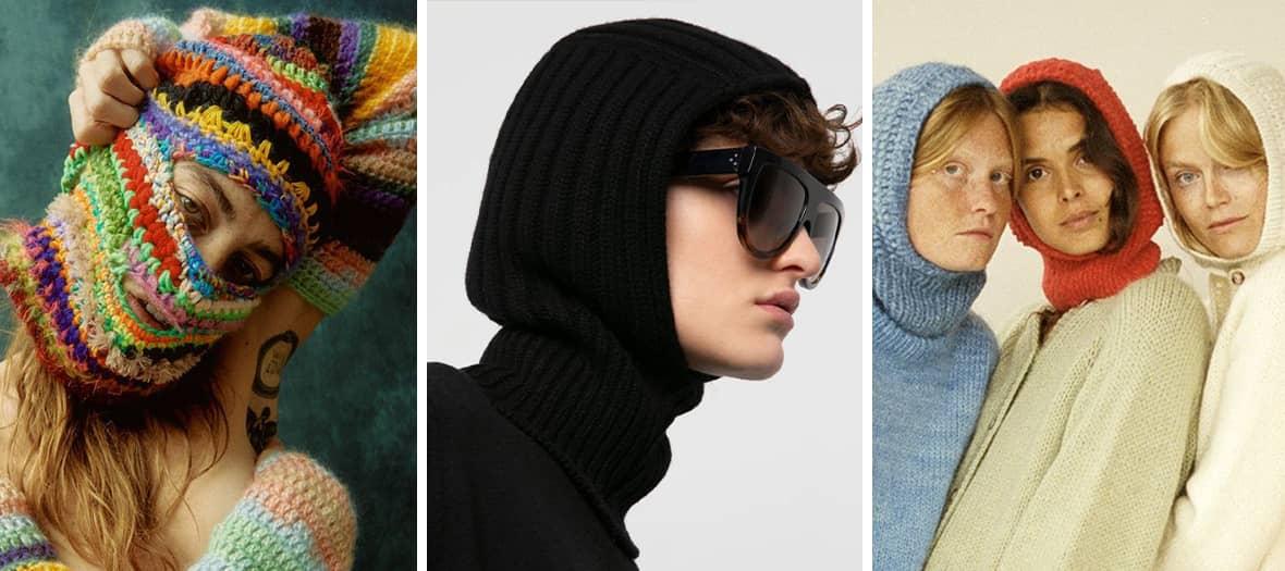 Danish balaclavas by Deima Knitwear, My Favorite Things Knitwear