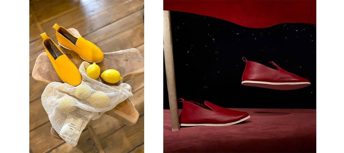 Les chausson Charentaise de Amélie Pichard