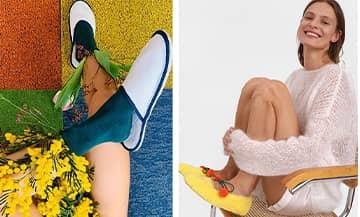 Furlane vénitiennes, charentaises de papi, bottines fourrées, ballerines fluffy, slippers ou mules de palace : le chausson inspire et s'aristocratise.