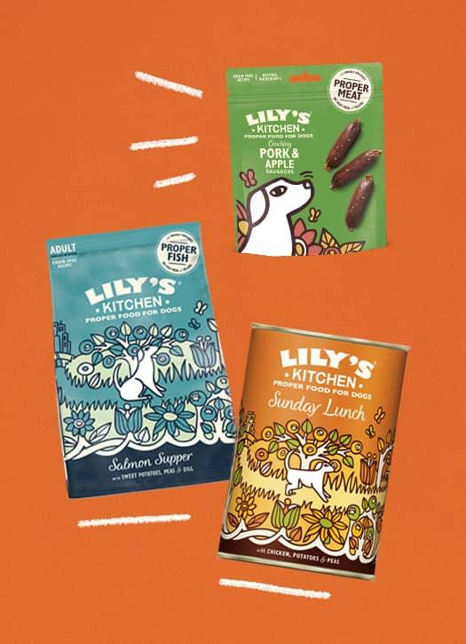 les croquettes, pâtées et friandises de Lily's Kitchen pour chiens