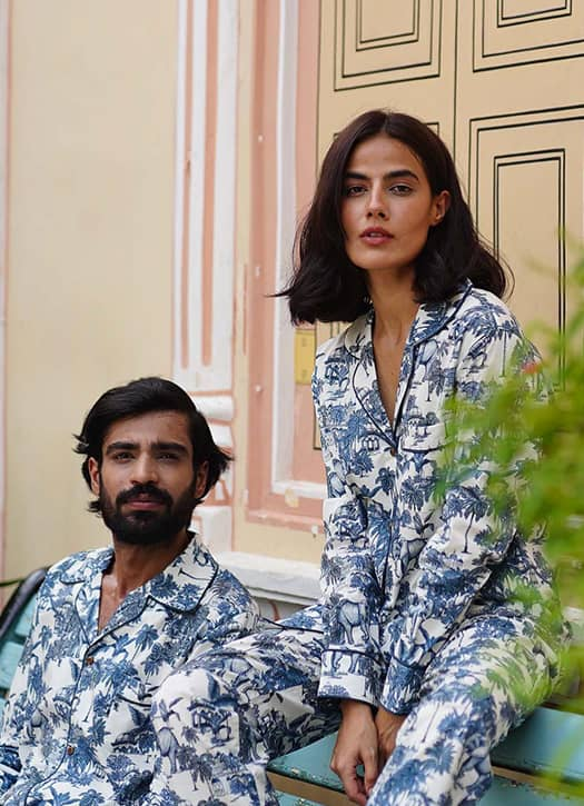 Pyjama Amala Raja, Luna & Noon