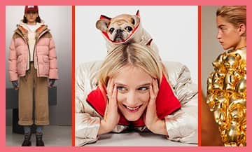 les tendances 2021 des Doudounes Hivers avec Napapijri, Acne Studios, Benetton, Bershka, zara, Tommy Hilfiger,   Pull & Bear, H&M, Ganni, Marie Papillon x Dualist et colmar.