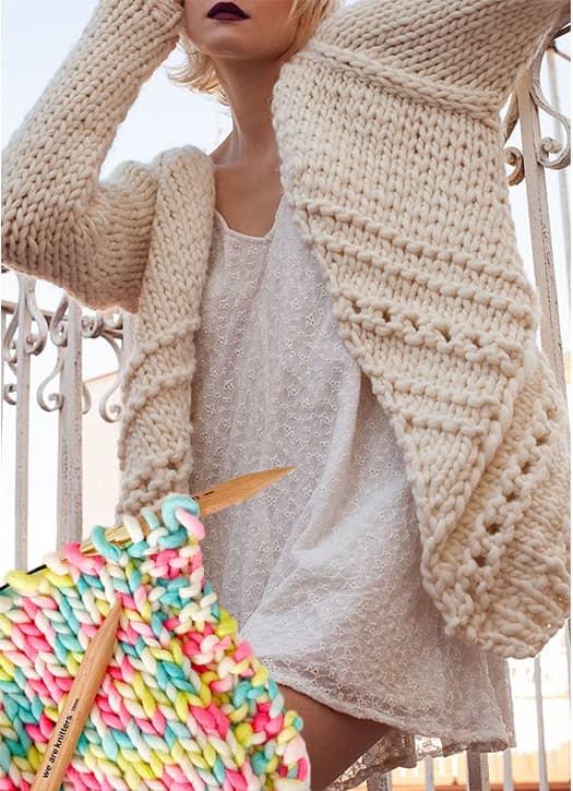 Kit de tricot Scott Cardigan, We Are Knitters