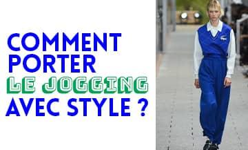 Wear jogging in style.