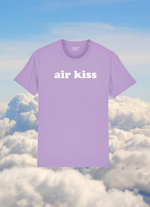 T-shirt lavande Acapulco, Air Kiss