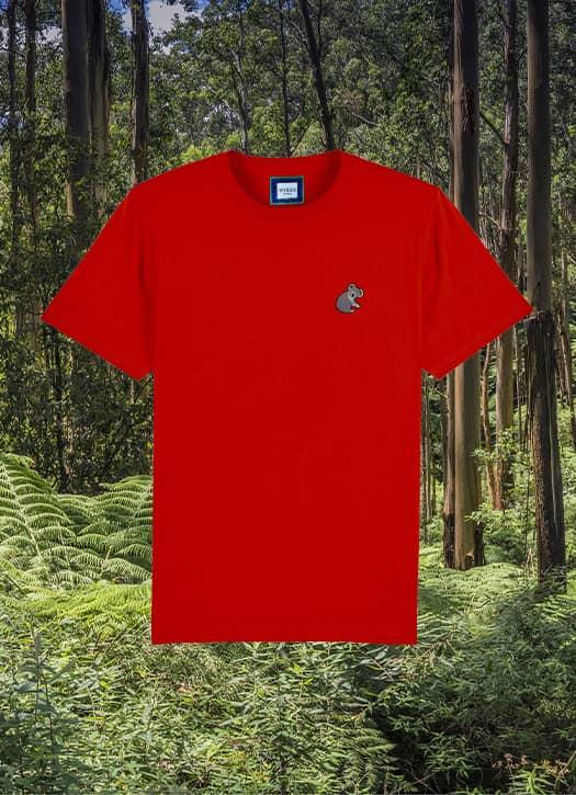 T-shirt koala, Viveles