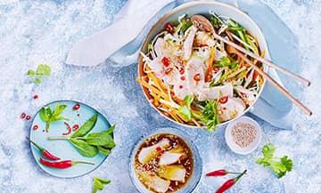 Salade Vietnamienne au lapin