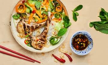 Salade Asiatique Agneau