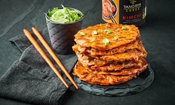 Pancakes Kimchi
