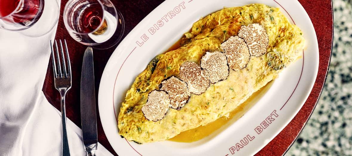 Omelette A La Truffe