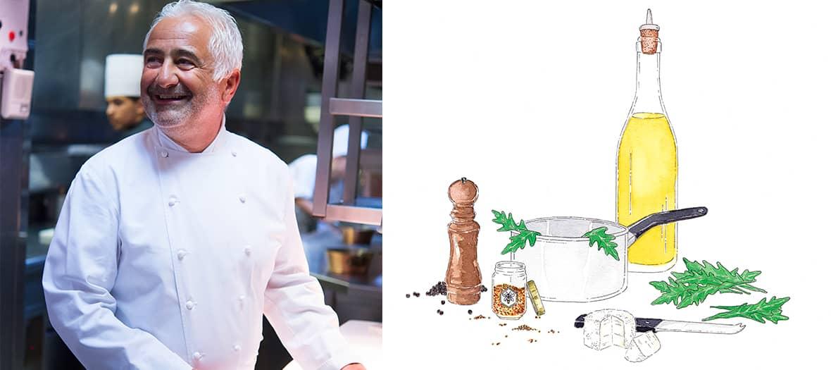 La Soupe 3 étoiles artichauts - truffe de Guy Savoy